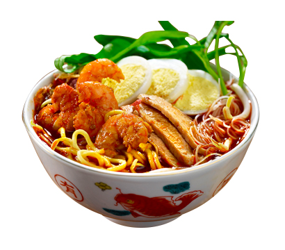 TRADITIONAL PORK RIBS PRAWN NOODLE